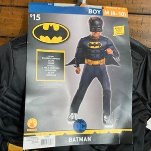 Batman DC Justice League Kids Costume M 8-10